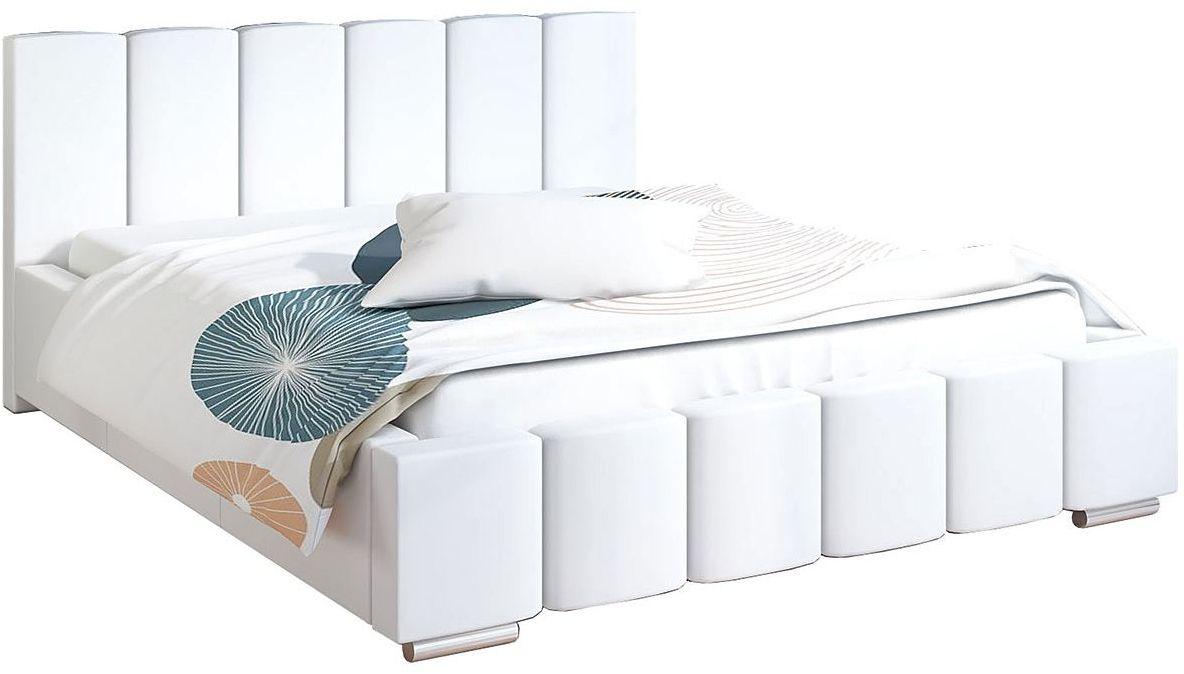 Tapicerowane łóżko 200x200 Galbano 3X - 48 kolorów