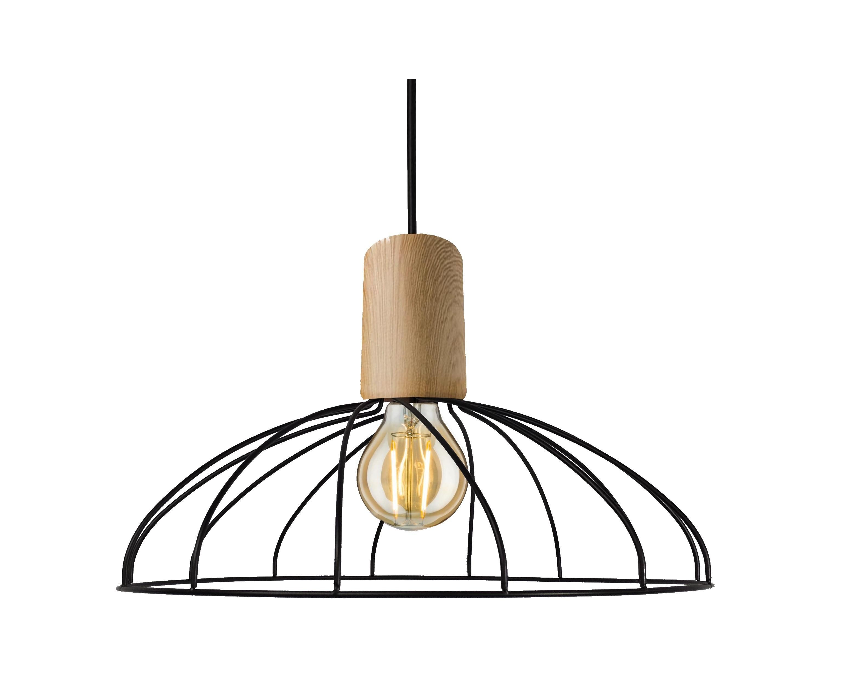 Lampa wisząca Moderno duża E27 LP-1221/1P B E27 BK - Light Prestige // Rabaty w koszyku i darmowa dostawa od 299zł !