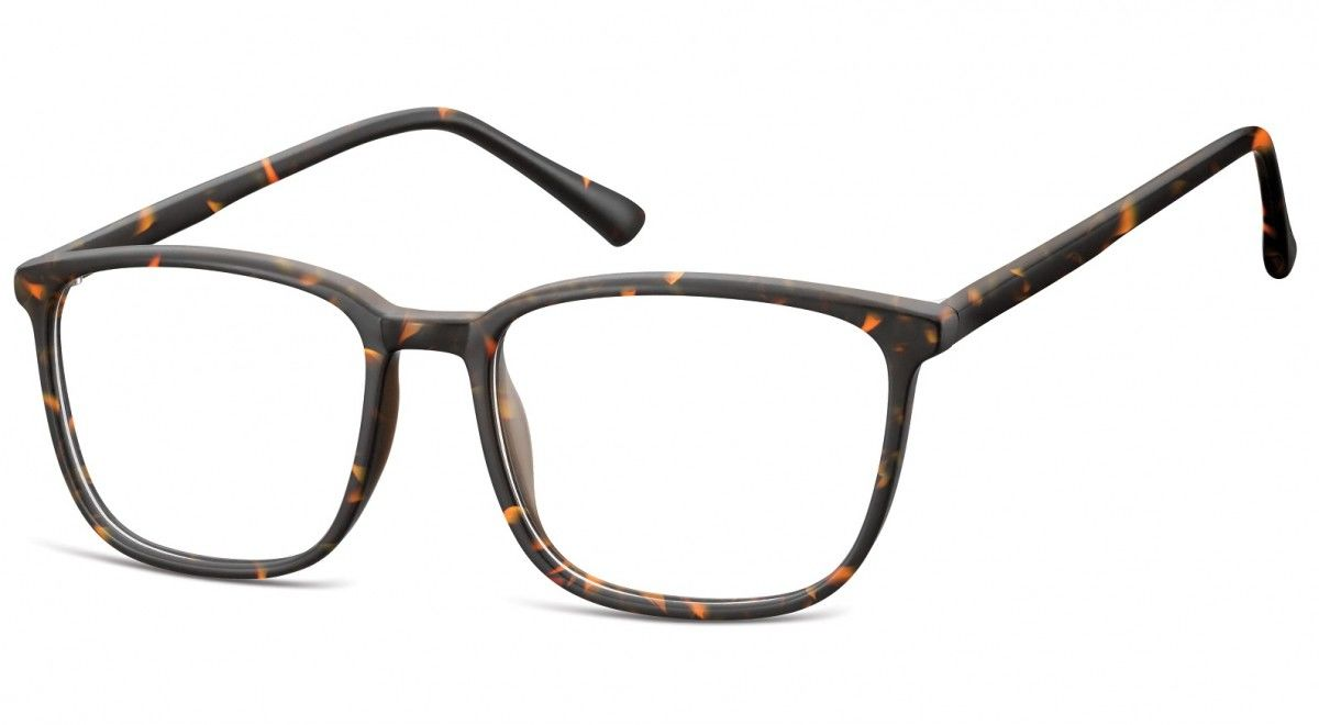 Okulary oprawki korekcyjne Nerdy zerówki Sunoptic CP128E panterka