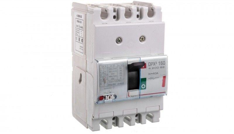 Wyłącznik mocy 40A 3P 36kA DPX3 160 420082