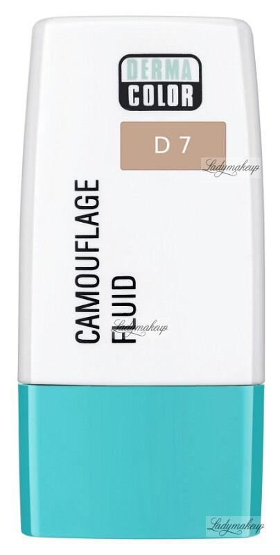 KRYOLAN - Dermacolor - Camouflage Fluid - Fluid wodoodporny - D 7