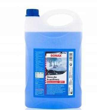 SONAX Zimowy Płyn Do Spryskiwaczy cytrynowy, 4L