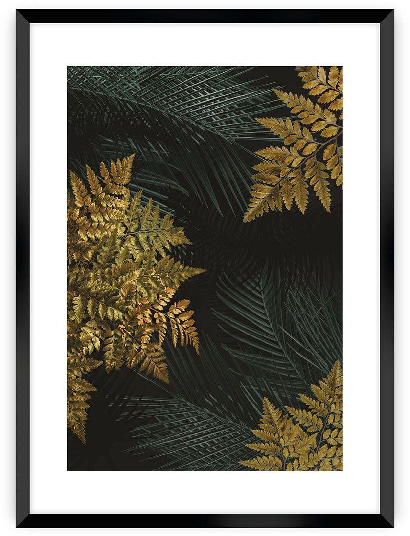 Plakat Golden Leaves II