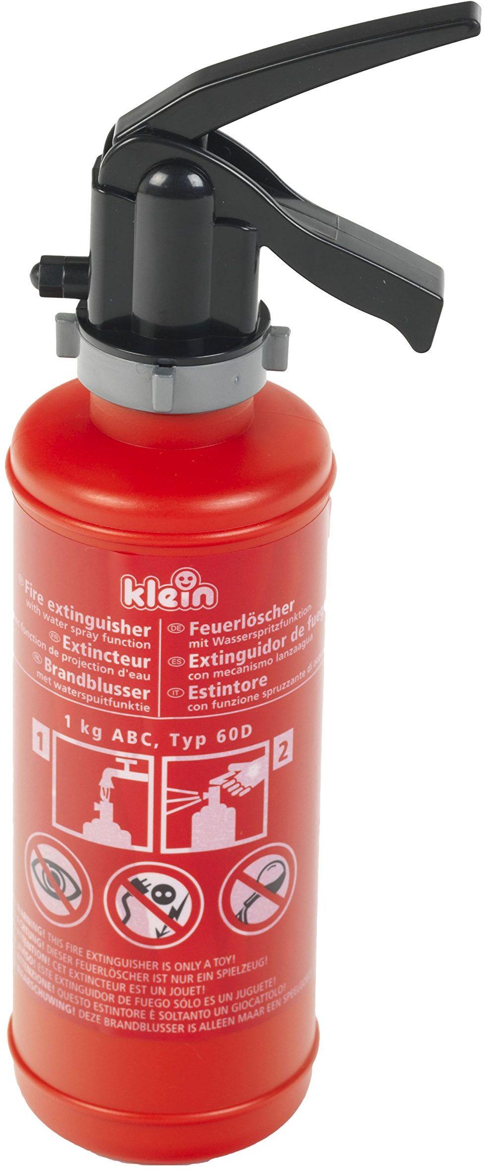 Theo Klein 8940 Fire Fighter Henry Zabawkowa Gaśnica, 0,5 l, Czerwona/Czarna