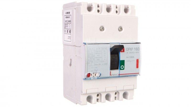 Wyłącznik mocy 100A 3P 36kA DPX3 160 420085