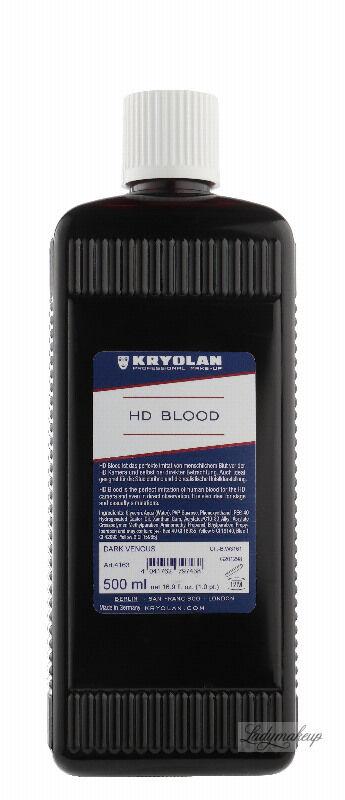 KRYOLAN - HD BLOOD - Realistyczna sztuczna krew HD - 500ml - ART. 4163 - DARK VENOUS
