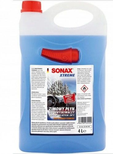 Sonax Xtreme zimowy płyn do spryskiwaczy -20 C 4L