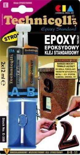 Klej standardowy NM Epoxy Technicoll 2x12ml