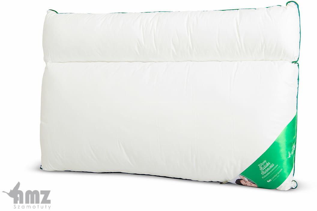 Poduszka Anatomiczna AMZ - z wałkiem 50x70 bawełna