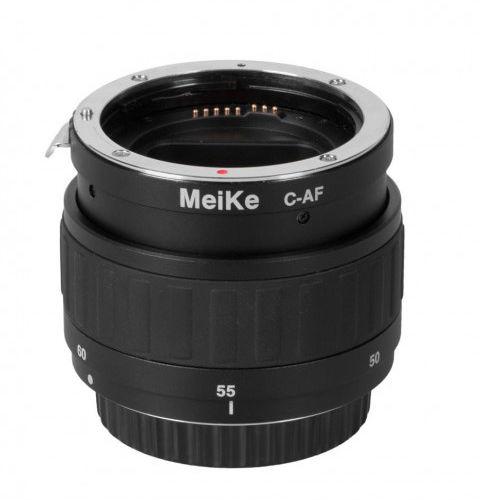 Pierścienie pośrednie MeiKe EXT z płynną regulacją do Canon EF