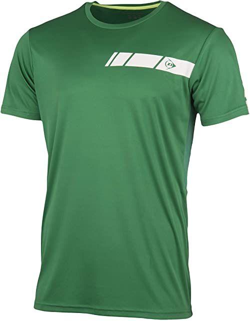 Dunlop Club Line Crew Tee Club Line Crew Tee Crew Tee zielony zielony S