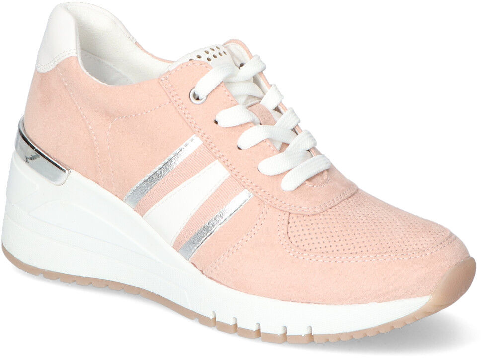 Sneakersy Marco Tozzi 2-23746-26 Różowe