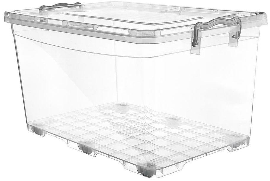 Orion Plastikowe pudełko do przechowywania na kółkach, 50 l