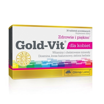 Gold-Vit dla kobiet 30tab