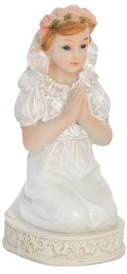 Figurka komunijna Dziewczynka 11cm 1 sztuka KFF4D