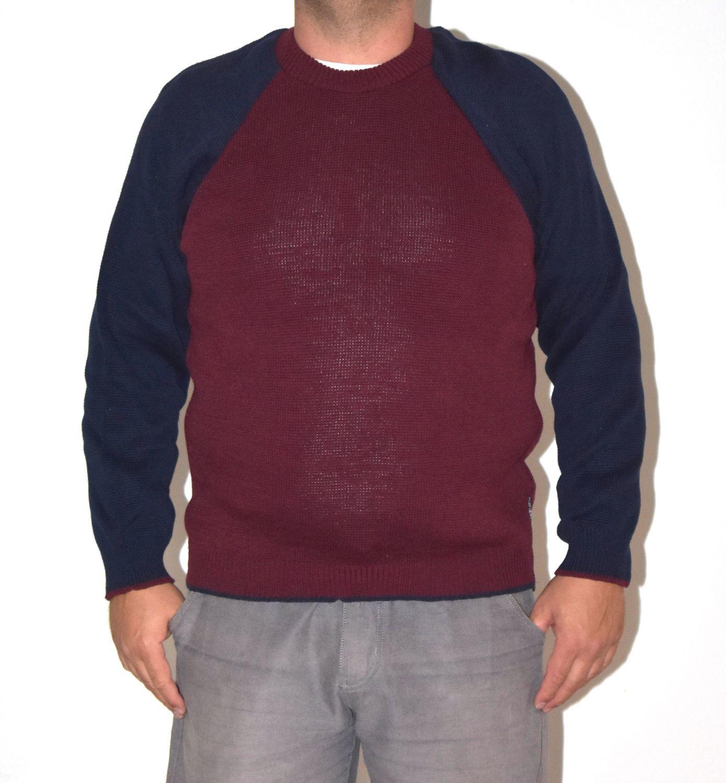 sweter męski CUCKOO CCK JUMPER Navy Purple