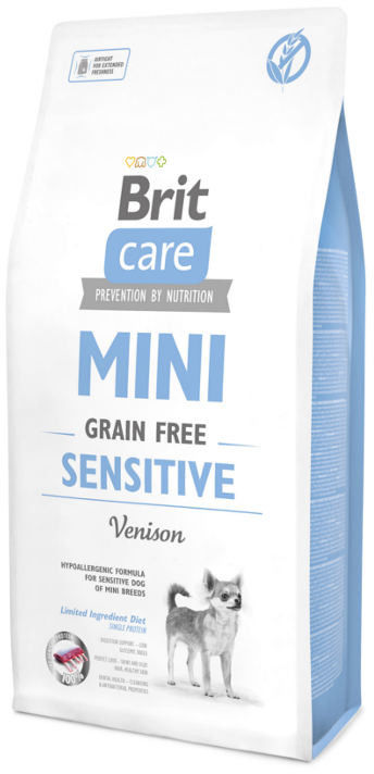 BRIT CARE Mini Grain Free Sensitive 2kg