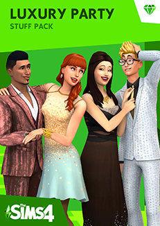 The Sims 4 Wytworne Przyjęcie Akcesoria (PC) klucz Origin