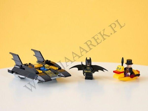 LEGO Super Heroes - Pościg Batłodzią za Pingwinem 76158