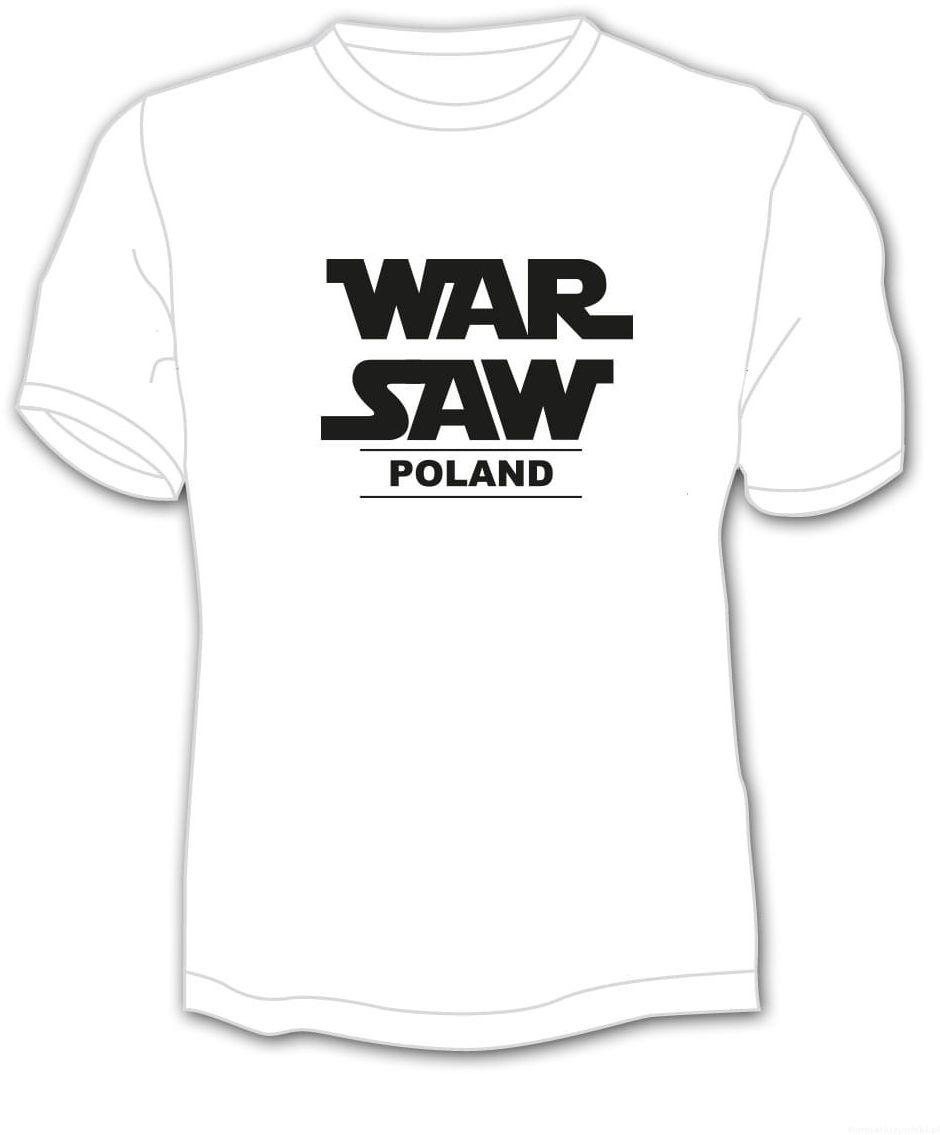"""Koszulka Warszawa """"War Saw"""""""