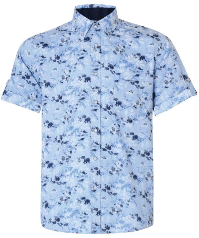 KAM 6190 Koszula Błękitna Tylko 2XL