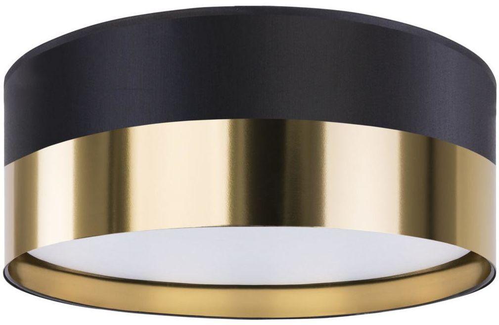 Plafon Londyn 60 cm czarno-złoty 4 x E27 TK Lighting
