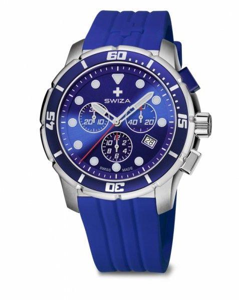 zegarek TETIS Chrono,SST, blue, blue WAT.0463.1003