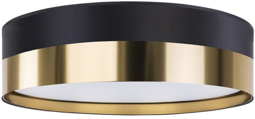 Plafon Londyn 45 cm czarno-złoty 3 x E27 TK Lighting