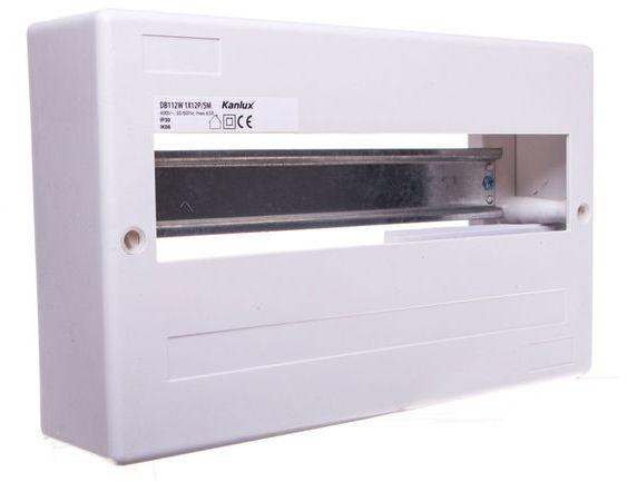 Rozdzielnica modułowa 1x12 natynkowa IP30 DB112W 1X12P/SM 3853