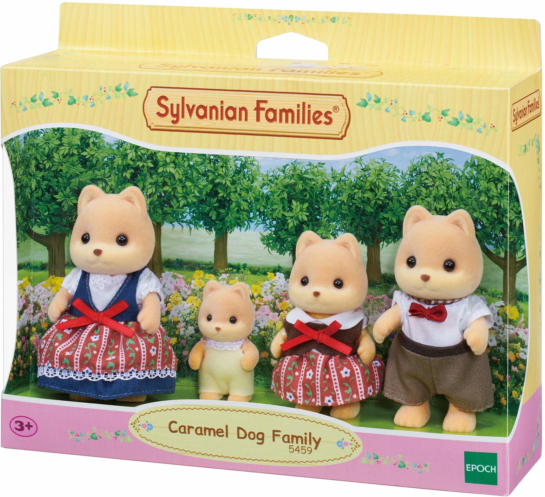 Sylvanian Families 5459 figurki rodziny psów karmelowych