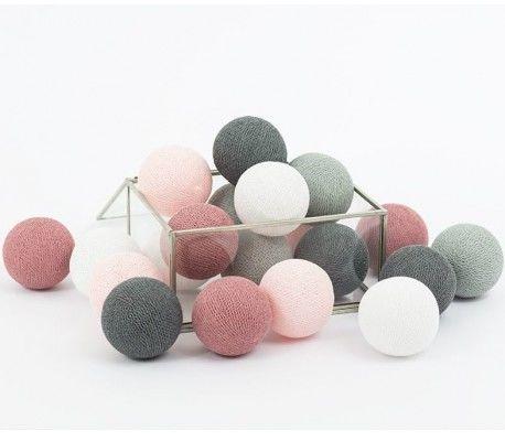 Cotton Balls Dusty Pink 10 kul