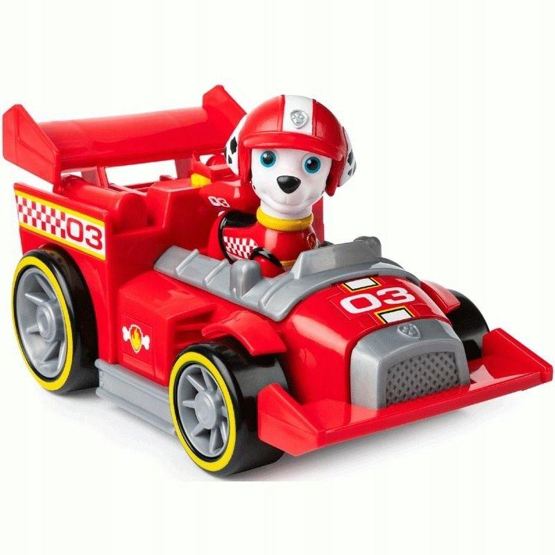 SPIN MASTER Psi Patrol Pojazd Tematyczny Ready Race Rescue z figurką Marshall 6054502