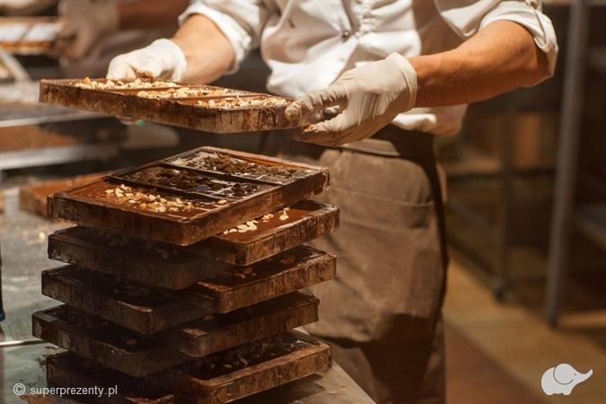 Warsztaty wyrobu czekolady w Warszawie