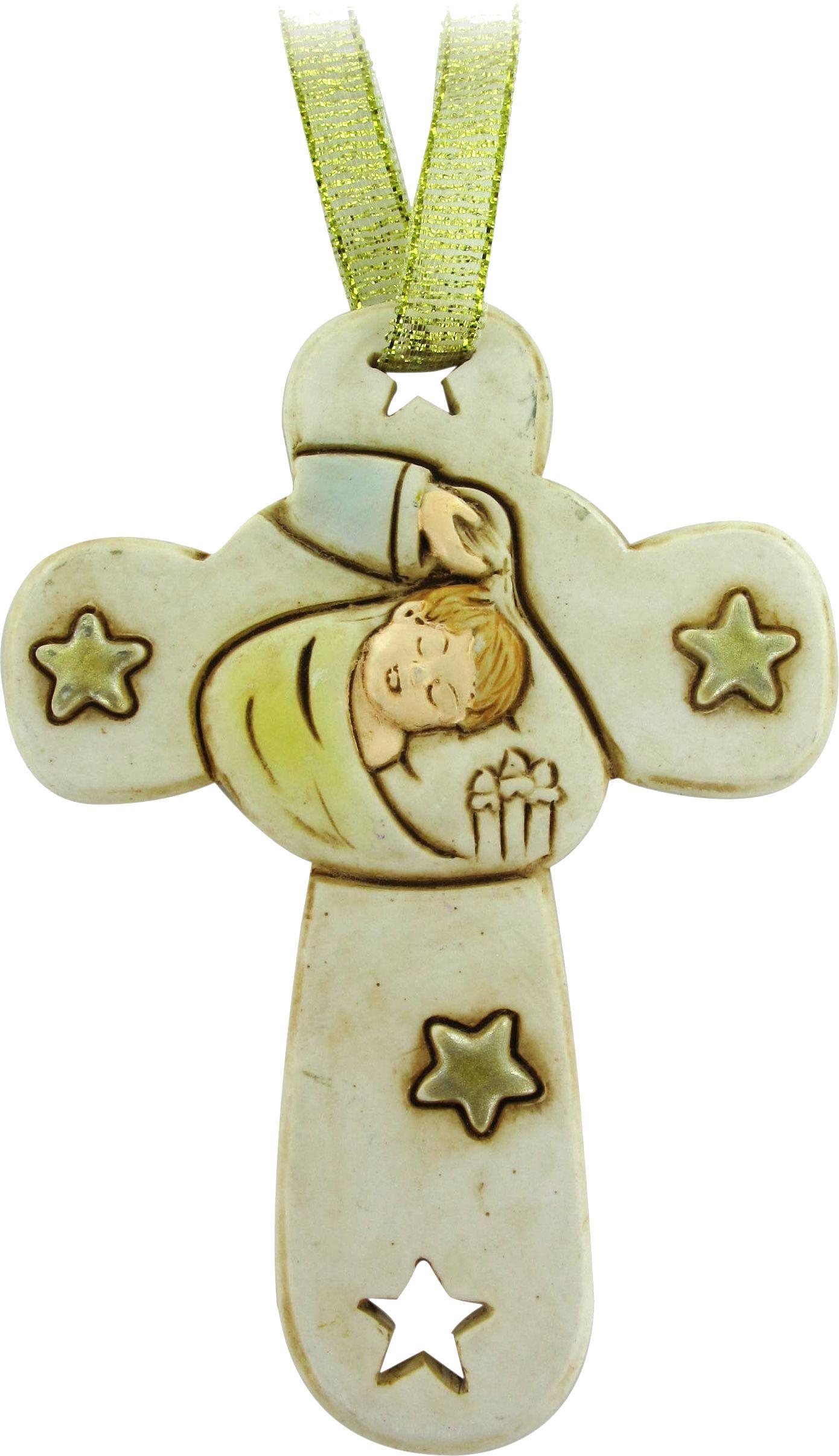 Krzyżyk dla dziecka na Chrzest