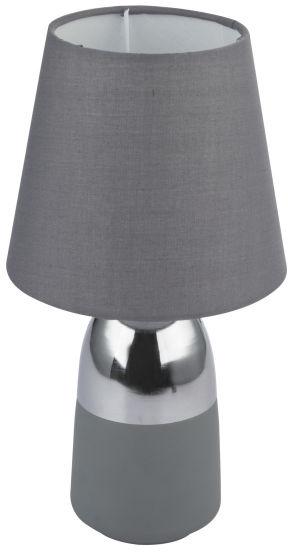 Globo EUGEN 24135C lampa stołowa chrom 1xE14 16cm