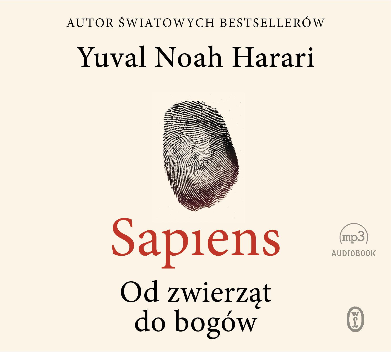 Sapiens. Od zwierząt do bogów - Yuval Noah Harari - audiobook