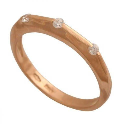 Złoty pierścionek tradycyjny Pn491