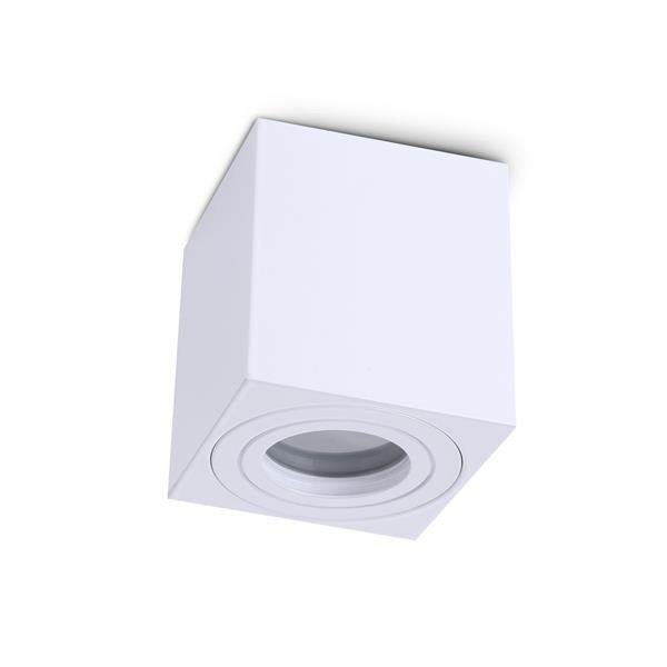 Lampa sufitowa AQUARIUS SQUARE BIAŁA IP44 KOBI LIGHT