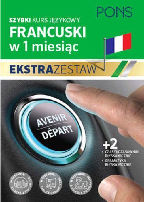Szybki kurs francuskiego Czasy błyskawicznie ZAKŁADKA DO KSIĄŻEK GRATIS DO KAŻDEGO ZAMÓWIENIA