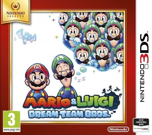 Mario & Luigi Dream Team Bros 3DS