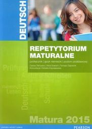 Repetytorium Maturalne 2015 Niemiecki Poziom Podstawowy ZAKŁADKA DO KSIĄŻEK GRATIS DO KAŻDEGO ZAMÓWIENIA