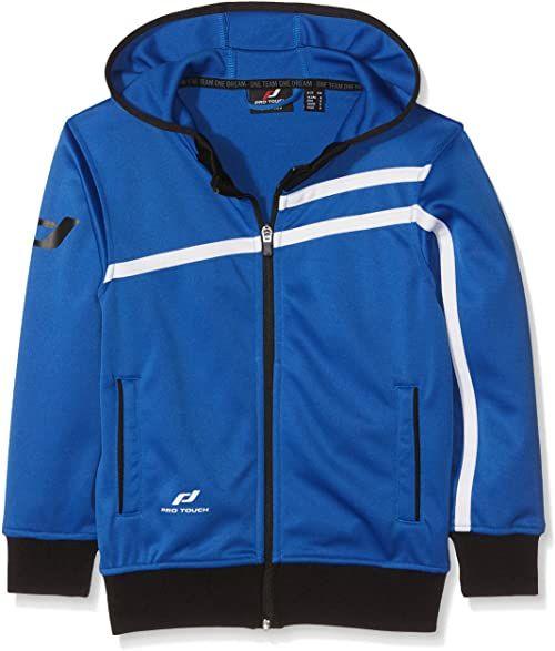 Pro Touch Unisex dziecięca kurtka z kapturem Kenly niebieski niebieski (Blue-565) 164