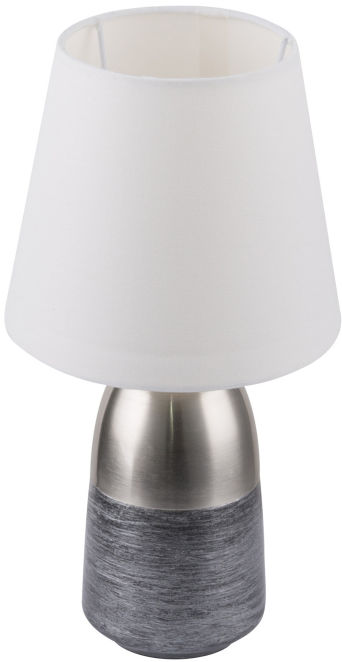 Globo EUGEN 24135W lampa stołowa chrom satynowany 1xE14 16cm