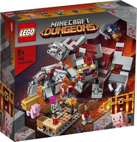 LEGO Minecraft - Bitwa o czerwony kamień 21163