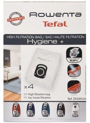 Worki syntetyczne Optimal ZR200520 Hygiene+ do odkurzacza 4szt Tefal