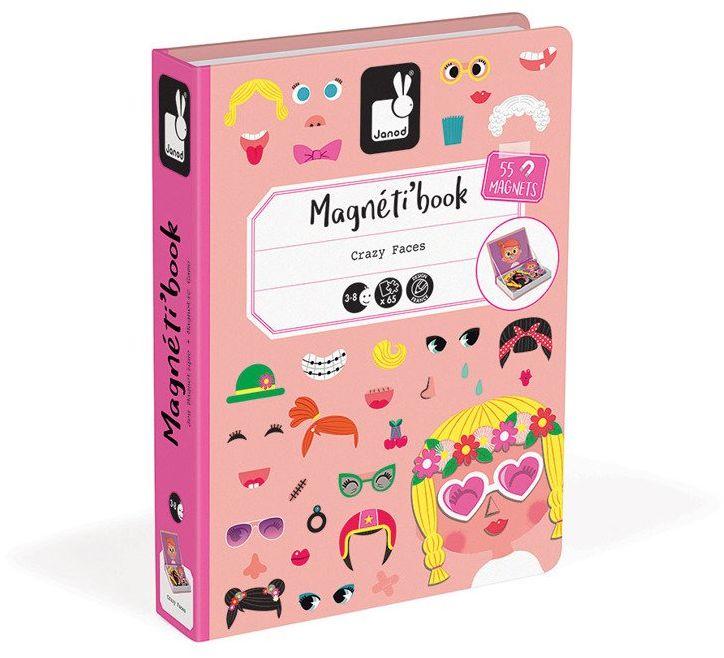 Magnetyczna układanka Buzie Girls J02717-Magnetibook, zabawki kreatywne