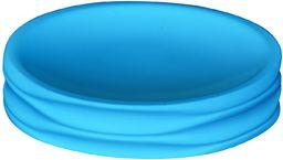 Grund COLOMBA mydelniczka 11 x 11 x 2,5 cm akcesoria turkusowe, 100% żywica poliestrowa/ABS, turkusowa, 11 x 11 x 2,5 cm
