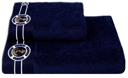 Ręcznik kąpielowy MARINE MAN 85x150cm Ciemnoniebieski