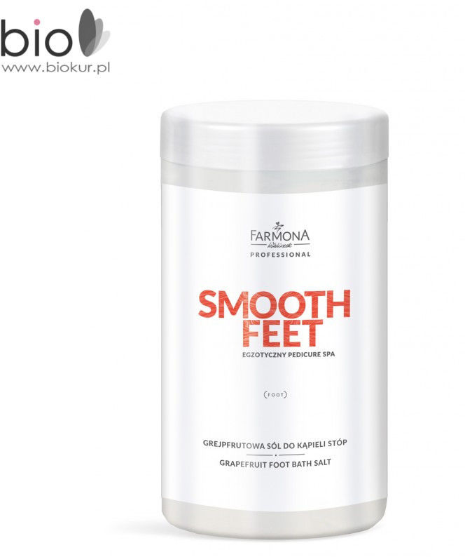 Farmona SMOOTH FEET Grejpfrutowa sól do kąpieli stóp - 1500 g