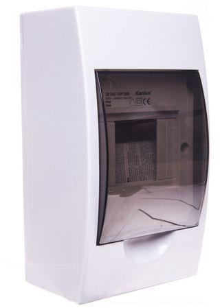 Rozdzielnica modułowa 1x4 natynkowa IP40 DB104S 1X4P/SMD 3830